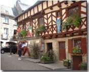 Josselin's half-timbered Tourist Information Office