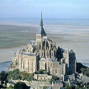 Mont Saint Michel Historic 11th Century Unesco World Heritage Site